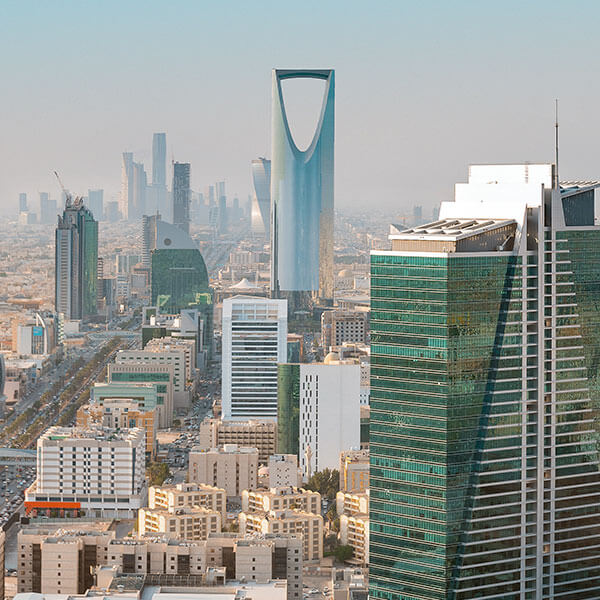 City skyline of Riyadh