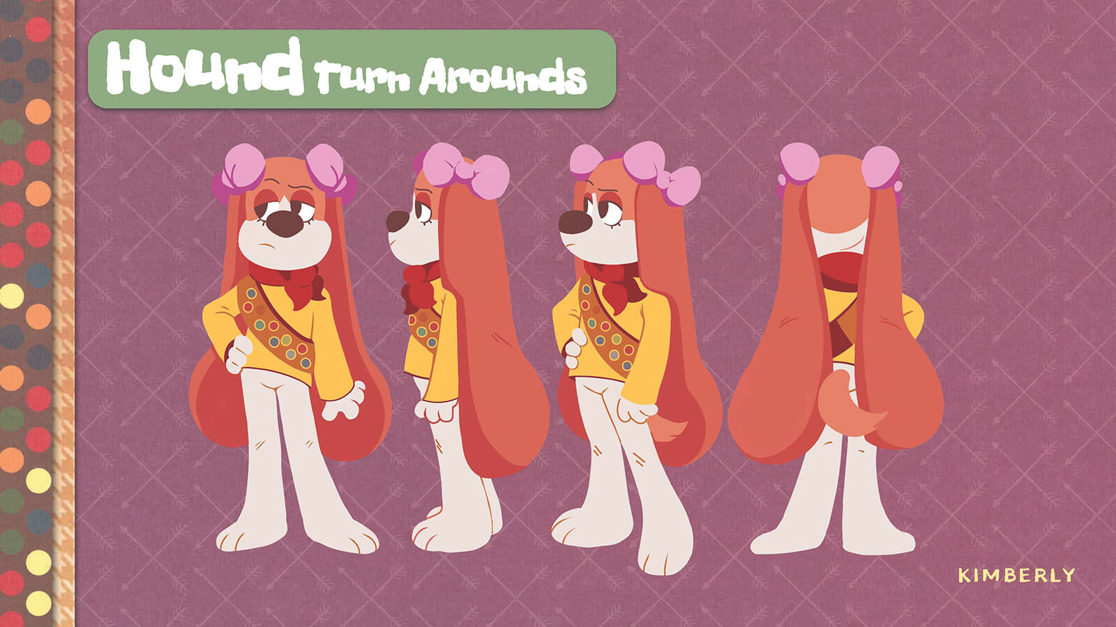Turnaround of the character Hound.