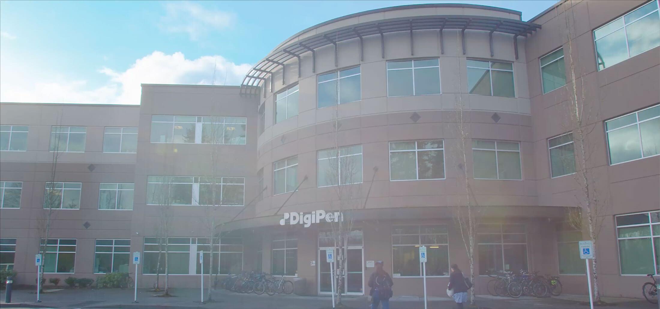 DigiPen's campus building exterior