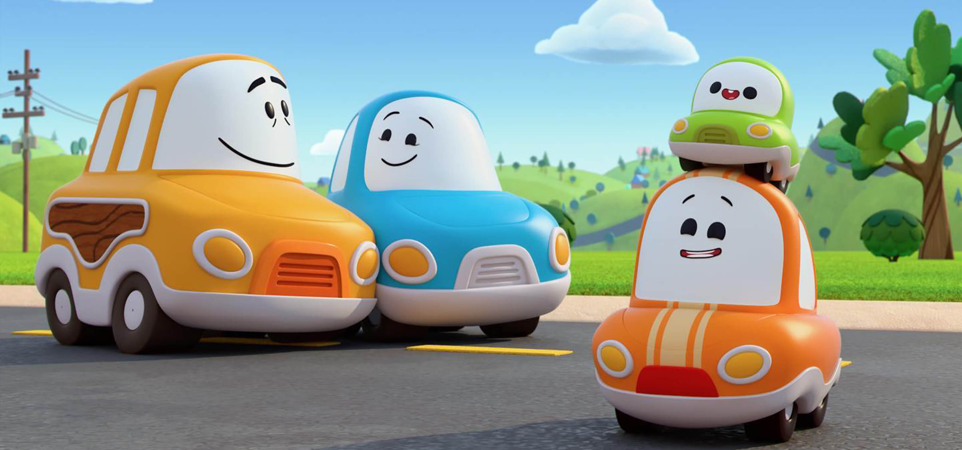 A DigiPen Duo Brings Cuddly Cars to Life on Netflix's Go! Go! Cory ...