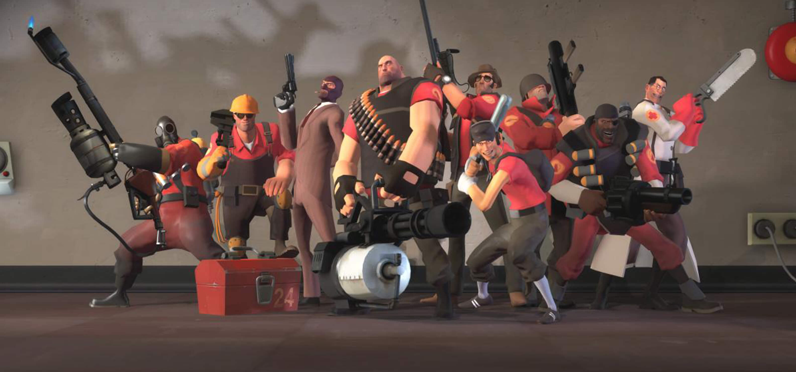 Eric Smith says some of his most memorable experiences at Valve came from working on Team Fortress 2.