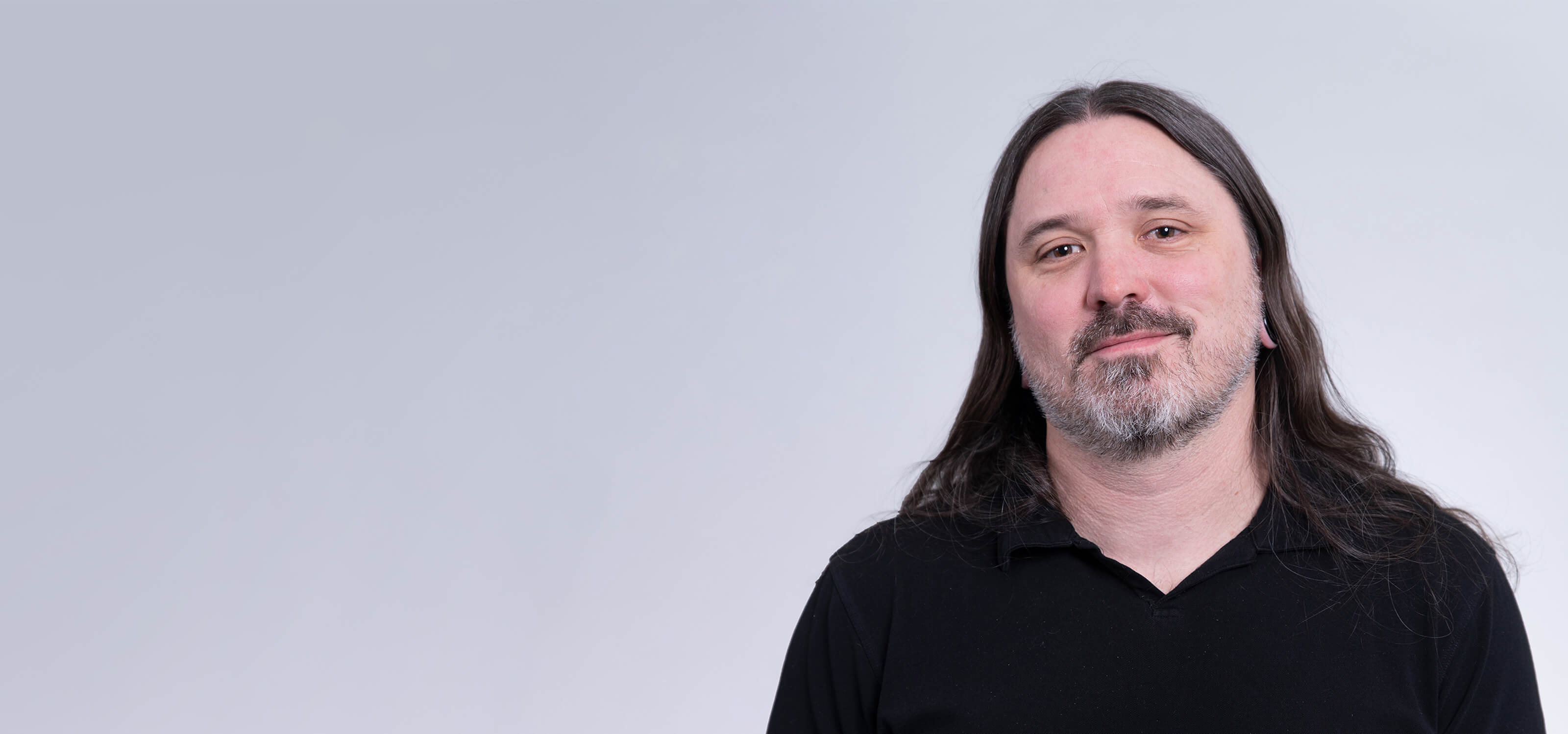 A headshot of DigiPen game and concept art instructor Rich Werner.