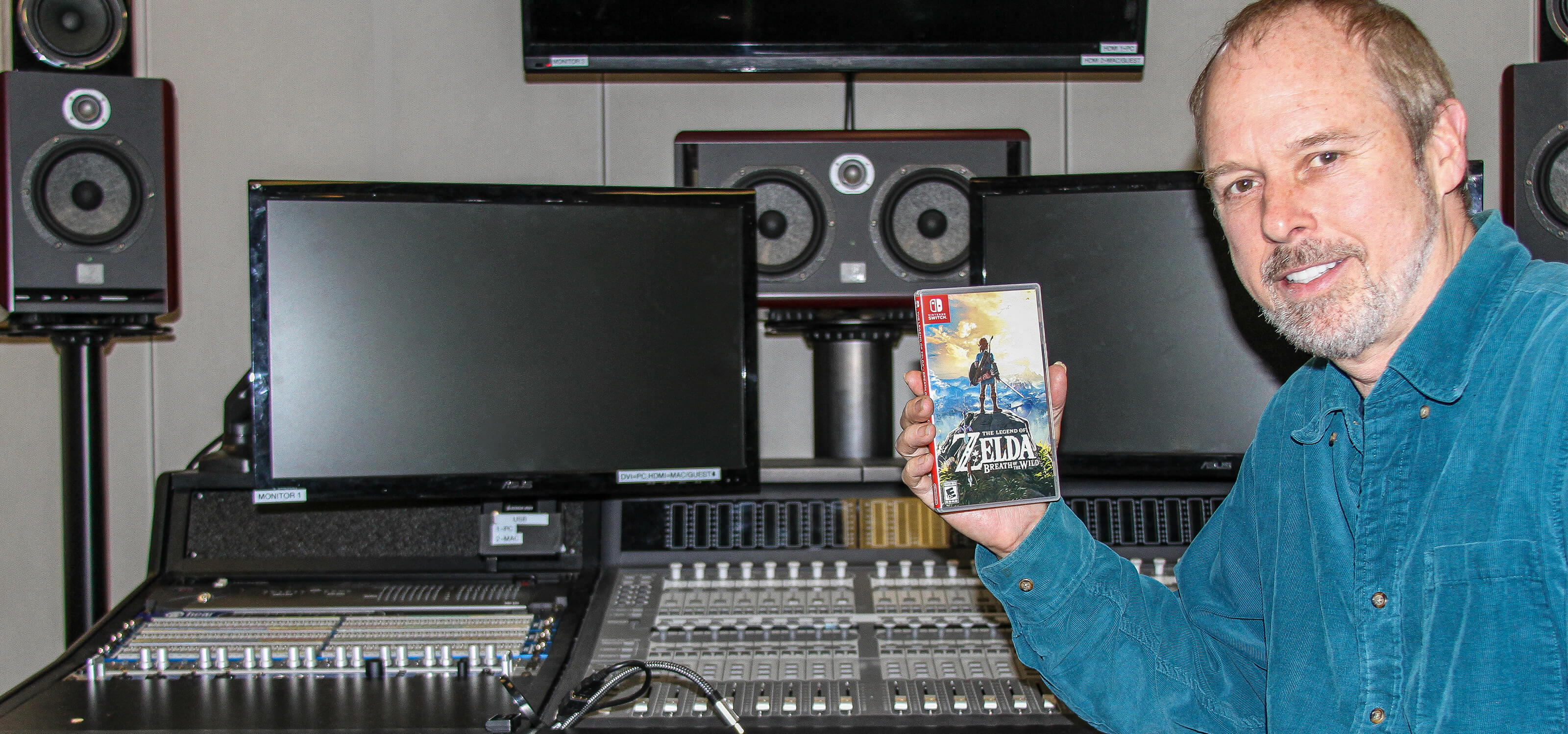 """Program director Lawrence Schwedler explains why the Zelda title is """"the apex of non-linear game audio"""" and how he teaches his students with it."""