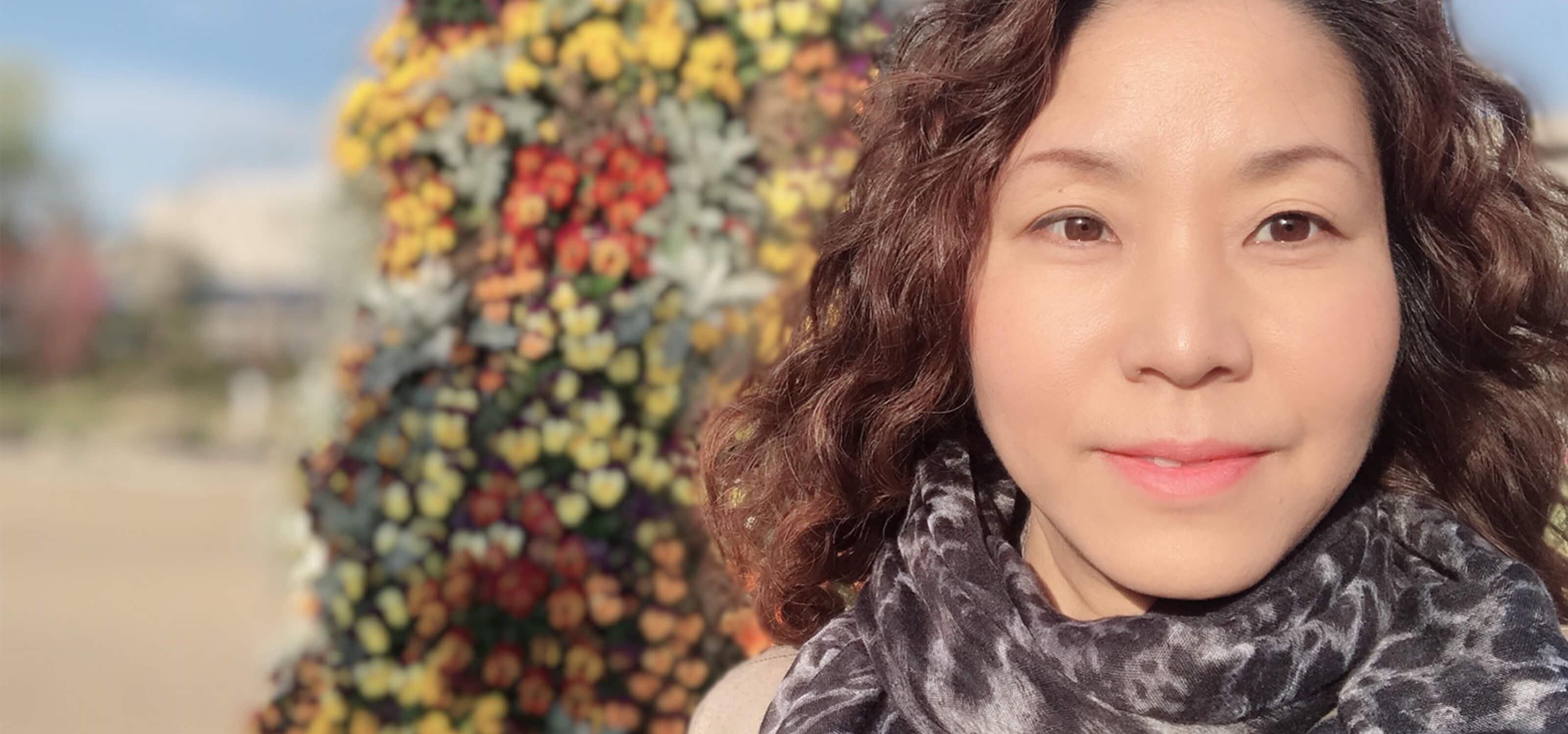 DigiPen graduate and former Nintendo character designer Satomi Asakawa.