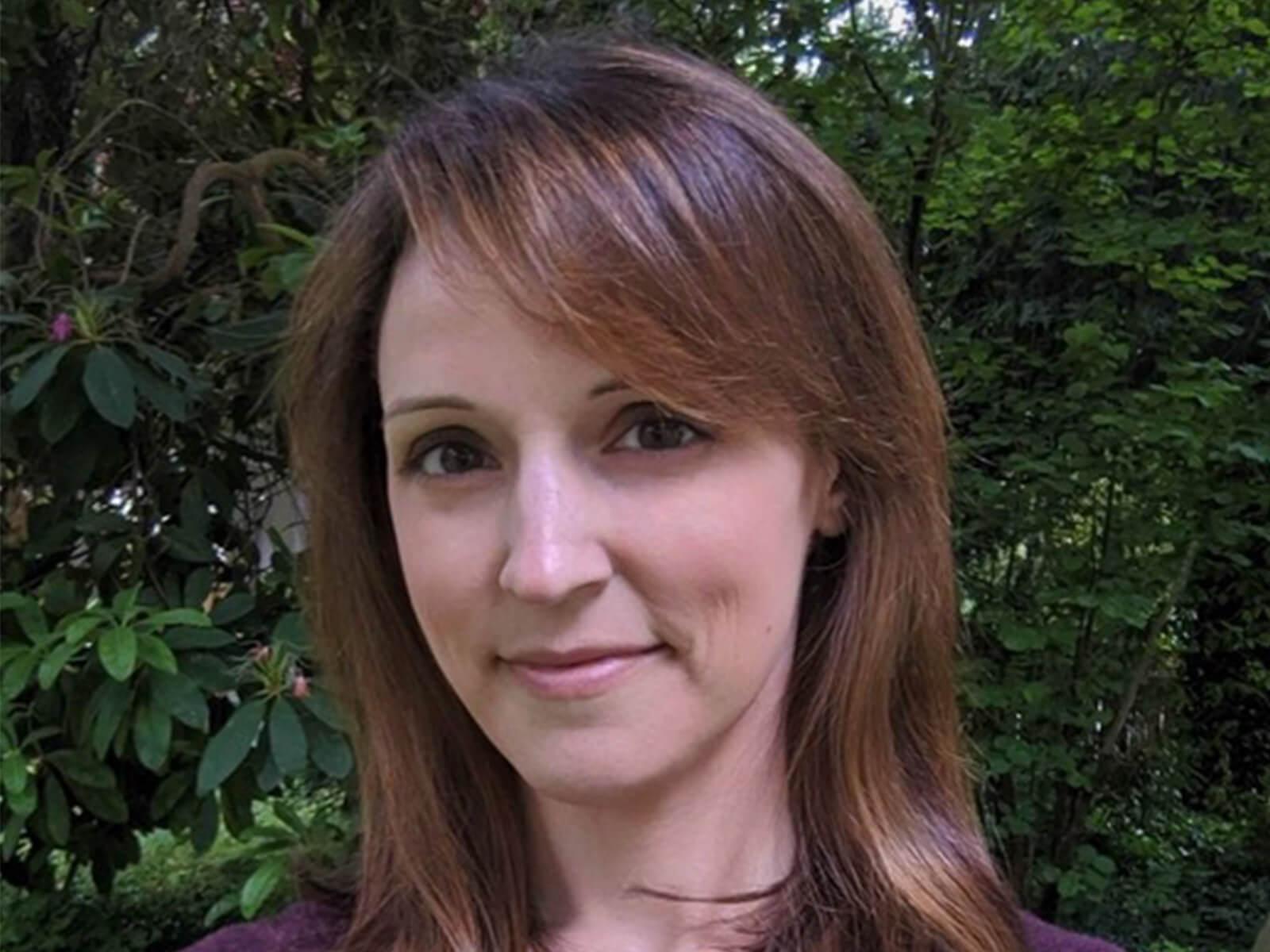 DigiPen professor Dr. Vanessa Hemovich.