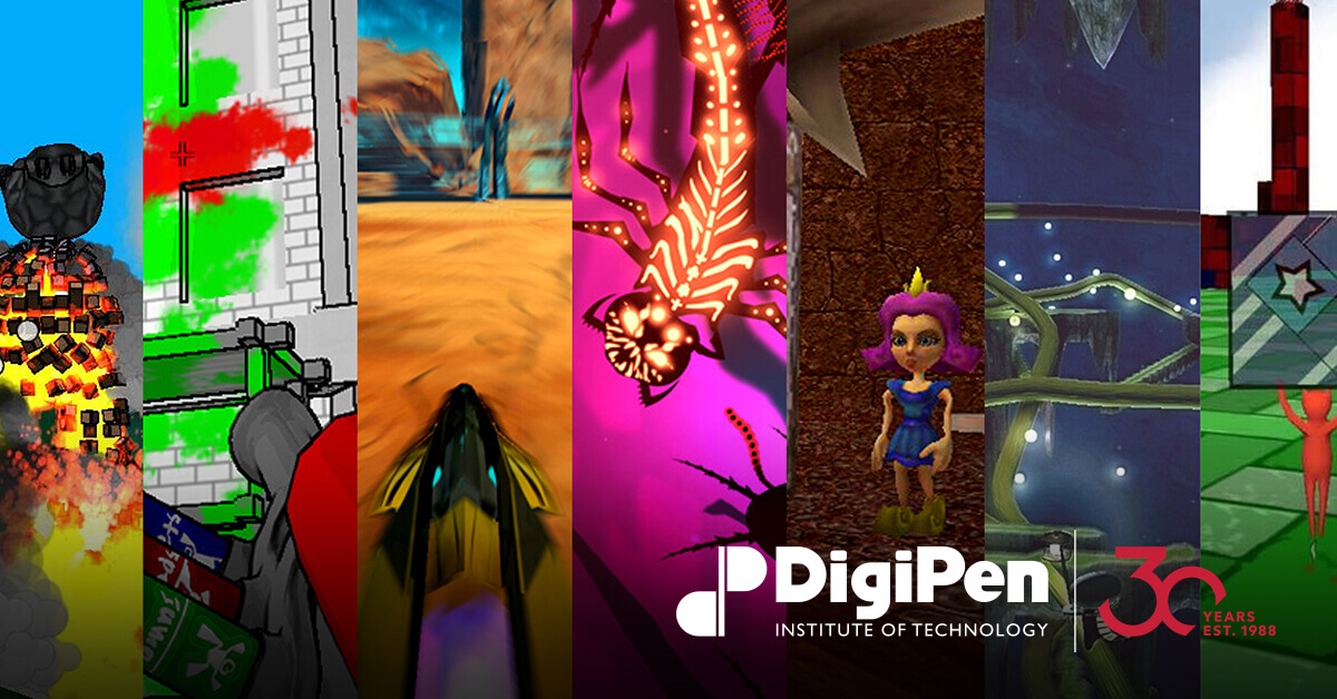 DigiPen's Top 20 Most Downloaded Student Games of All-Time