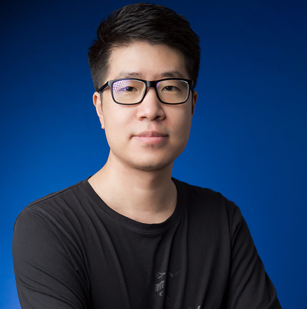A headshot of DigiPen graduate Aaron Yang.