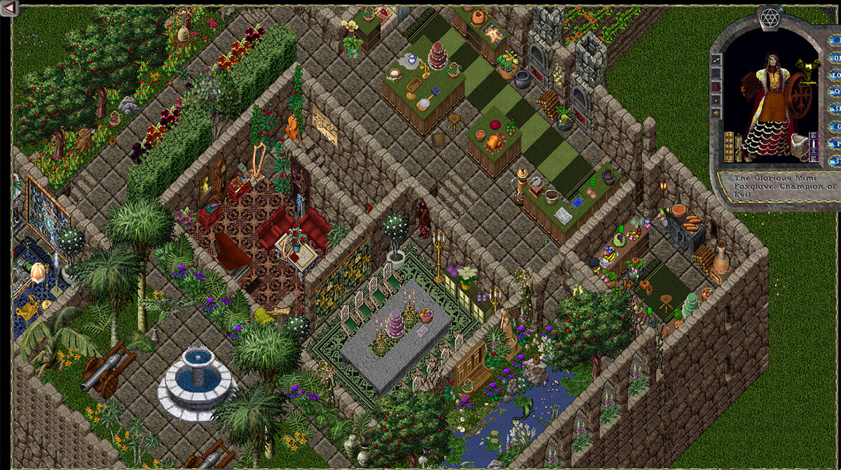 Screenshot from Ultima Online