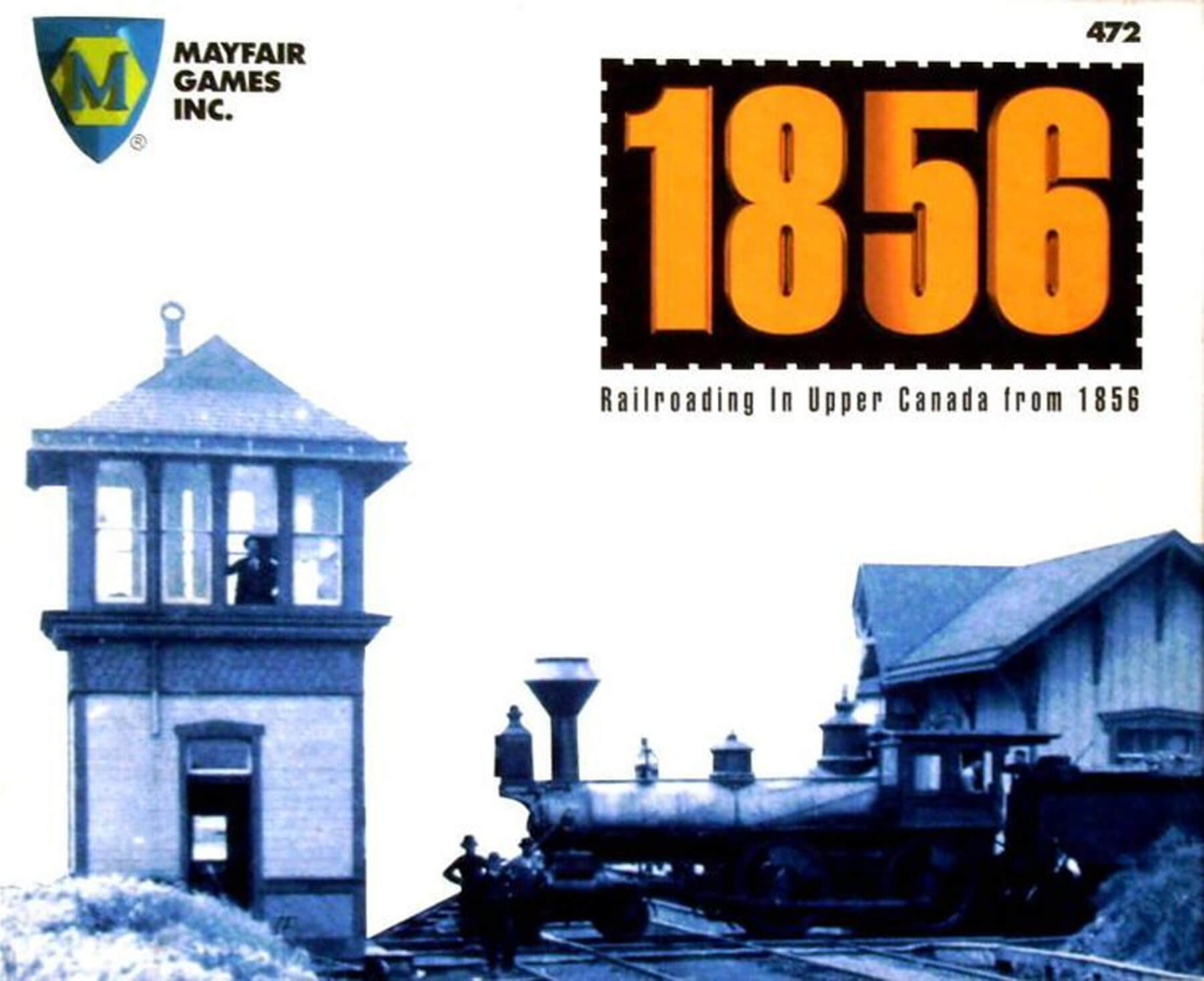 The cover art for the board game 1856.