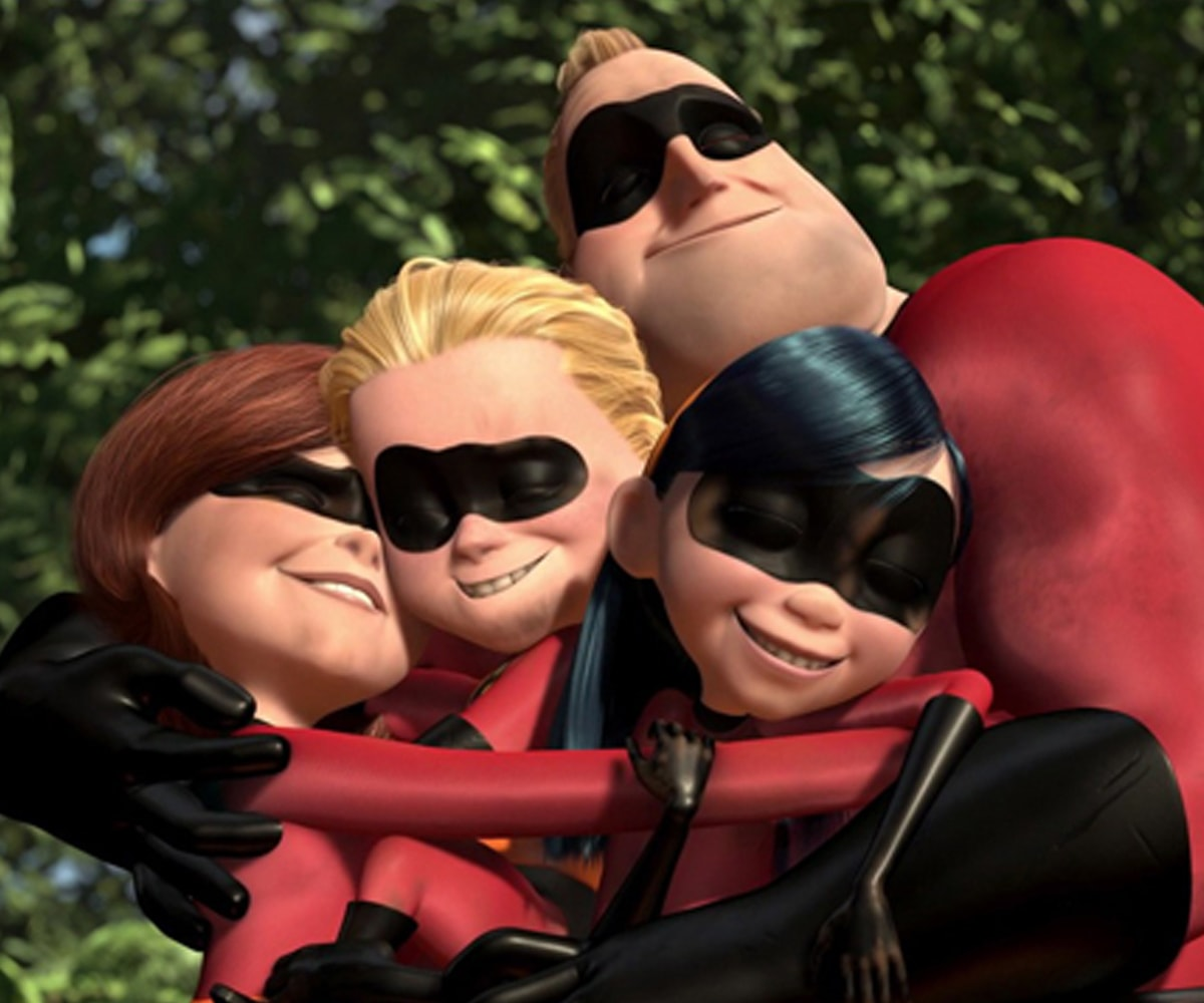 Screenshot from the animated film The Incredibles