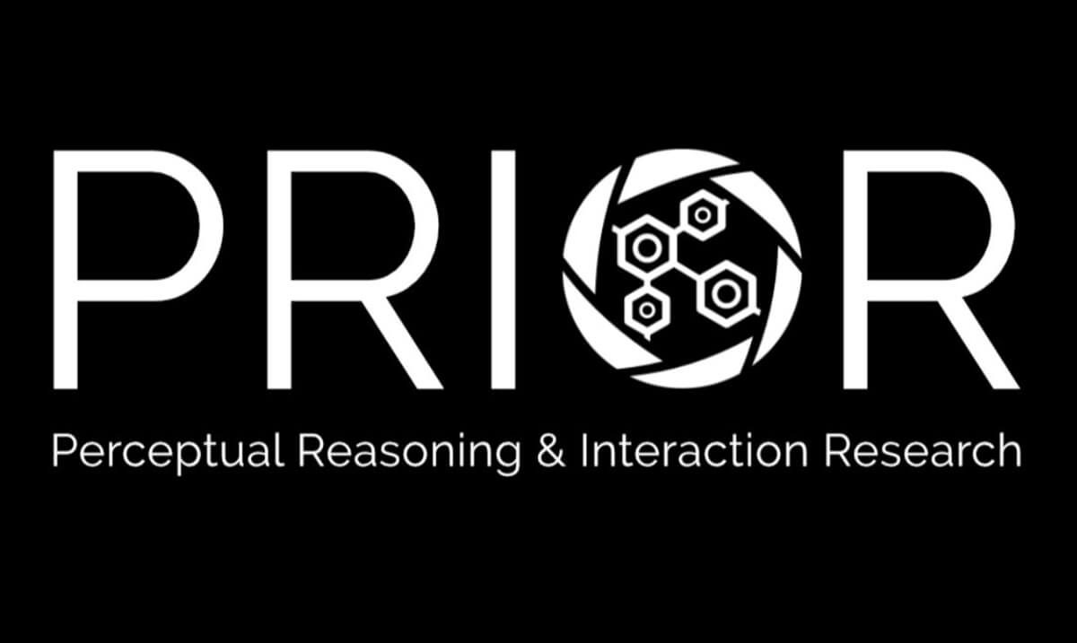The logo for Perceptual Reasoning & Interaction Research, aka PRIOR, as designed by Winson Han.