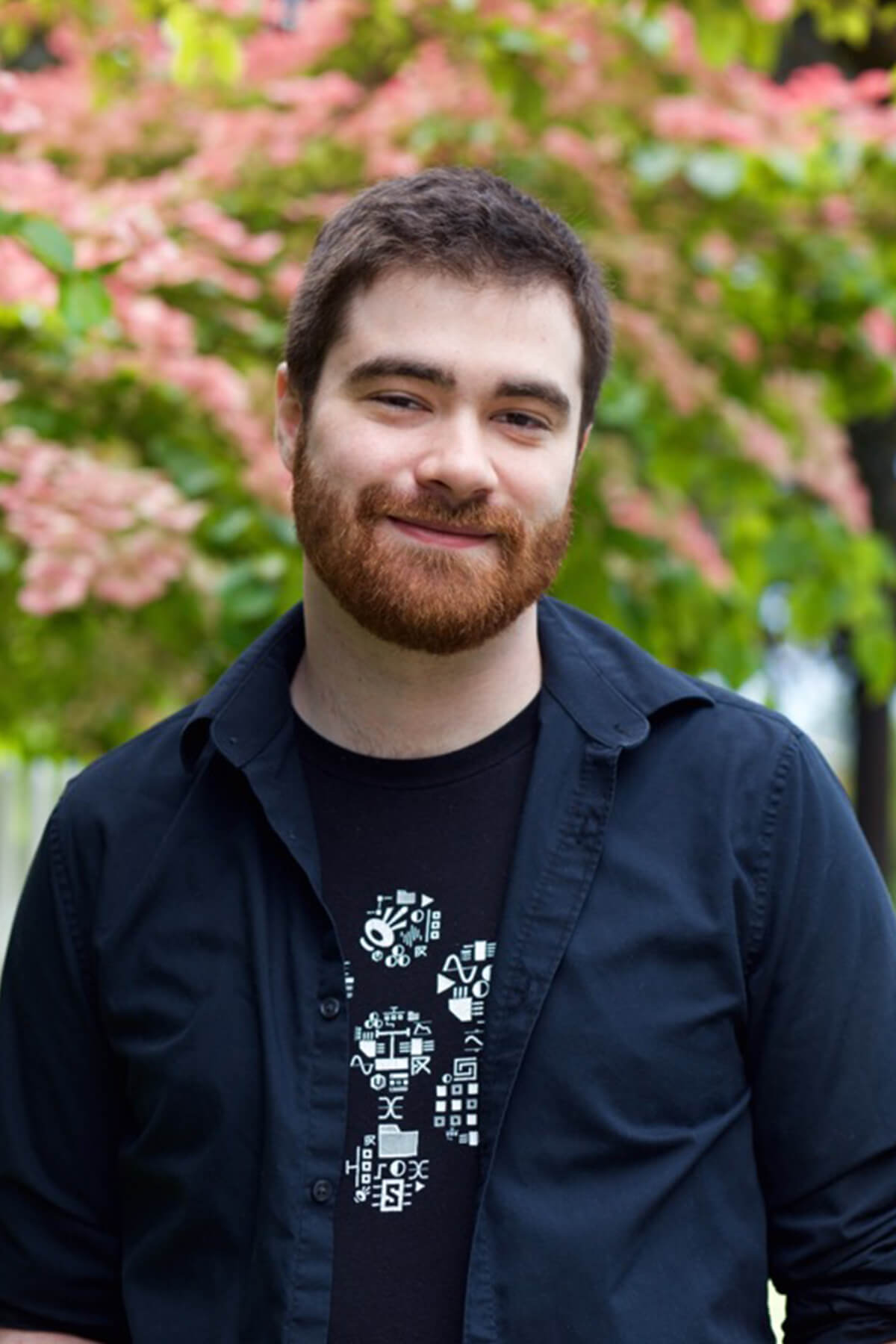 DigiPen BA in Music and Sound Design graduate and V1 Junior Sound Designer, Thomas Parrish.
